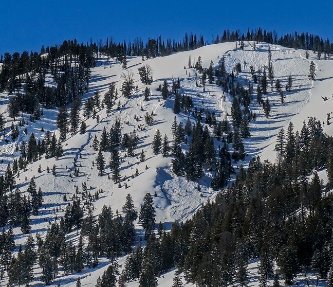 Ski trails excellent!