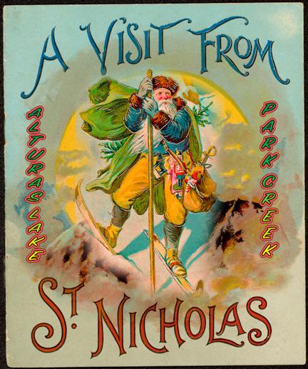 Saint Nick visits Sawtooth Ski Trails